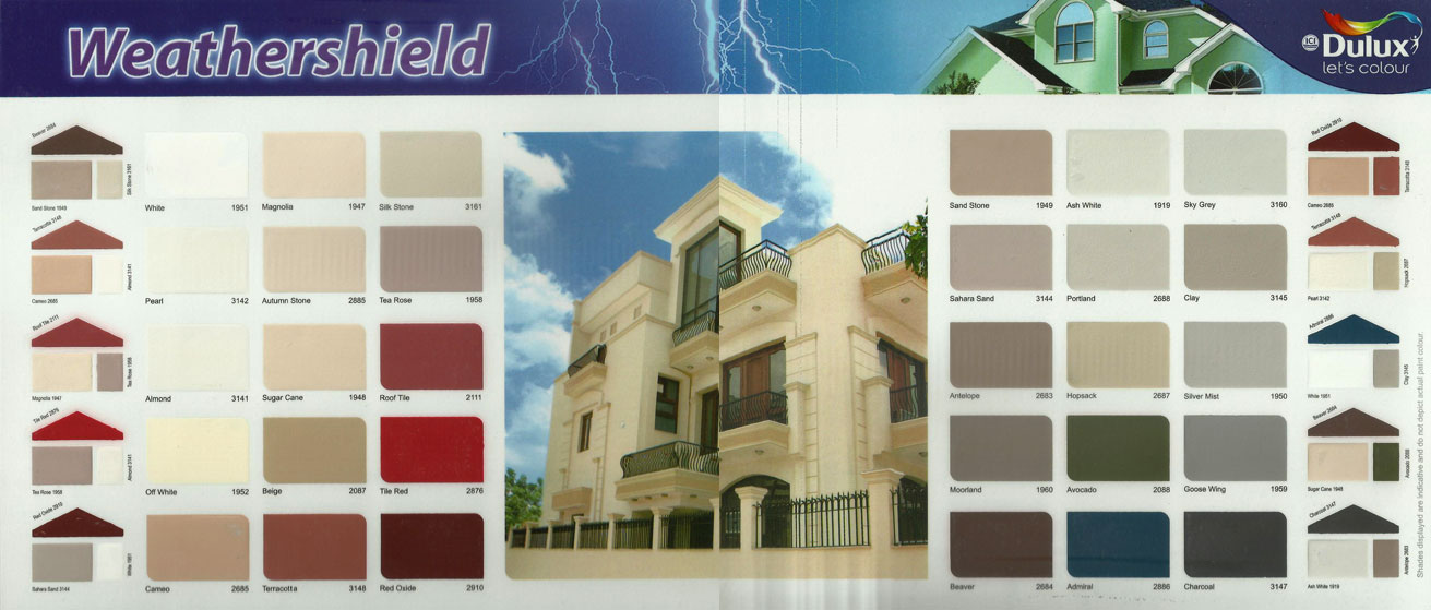 Ici Dulux Paints Shade Card : Shade Cards